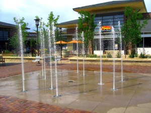 Orchard Town Center Splash Pad Fountains